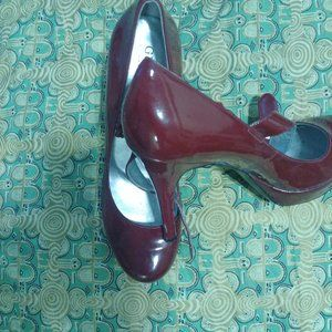 VINTAGE Red Guess Shoes MaryJanes